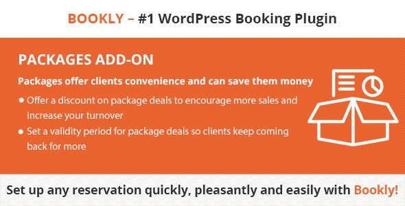 Download Bookly Packages (Add-on) v3.4 Free / Nulled