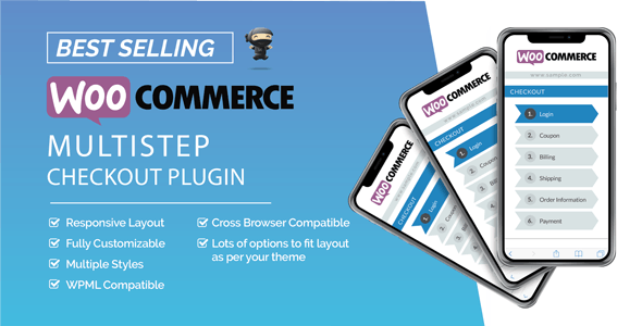 Download WooCommerce MultiStep Checkout Wizard v3.6.9 Free / Nulled