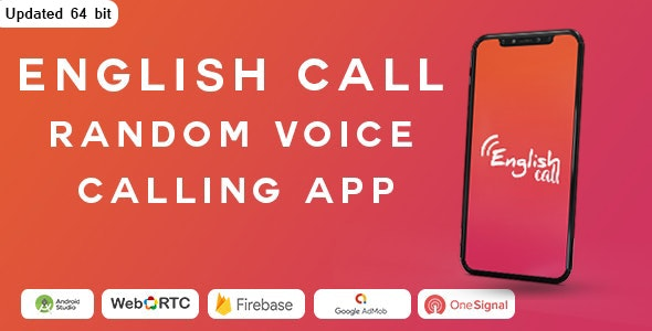 Download Random Voice Call App With Strangers v1.9 Free / Nulled