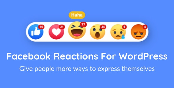 Download Facebook Reactions For WordPress v2.6 Free / Nulled