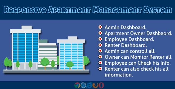 Download Responsive Apartment Management System v3.0 Free / Nulled
