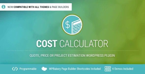 Download Cost Calculator v2.3.1 - WordPress Plugin Free / Nulled
