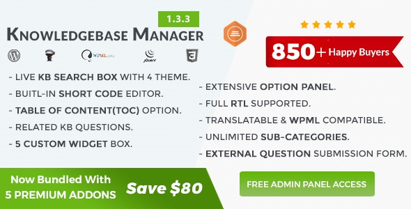 Download BWL Knowledge Base Manager v1.3.3 Free / Nulled