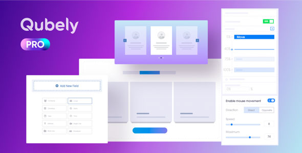 Download Qubely Pro v1.2.1 Free / Nulled