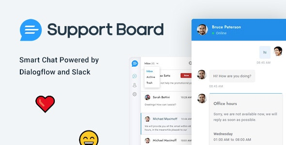 Download Support Board v3.0.7 - Chat PHP Wordpress Plugin Free / Nulled