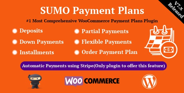 Download SUMO WooCommerce Payment Plans v7.4 Free / Nulled