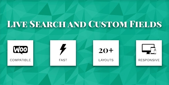 Download Live Search and Custom Fields v2.6.9 Free / Nulled