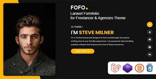 Download Fofo v1.0.2 - Laravel Formfolio for Freelancer & Agencies Theme Free / Nulled