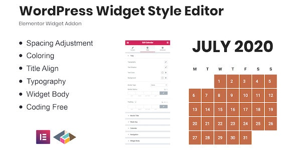 Download WordPress Widget Style Editor Elementor Addon v1.0.0 Free / Nulled