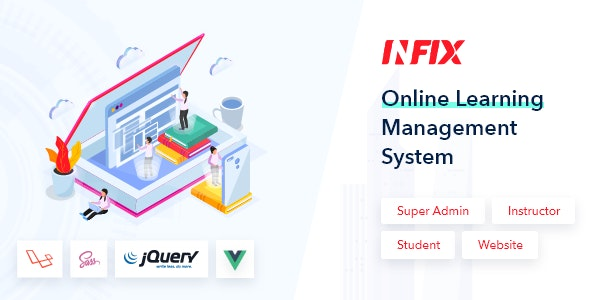 Download InfixLMS v1.0 - Open Source Learning Management System VueJs Free / Nulled