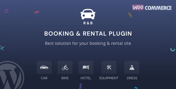 Download RnB v10.0.3 - WooCommerce Rental & Bookings System Free / Nulled
