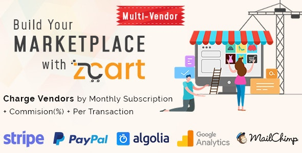 Download zCart v2.0.6 - Multi-Vendor eCommerce Marketplace Free / Nulled