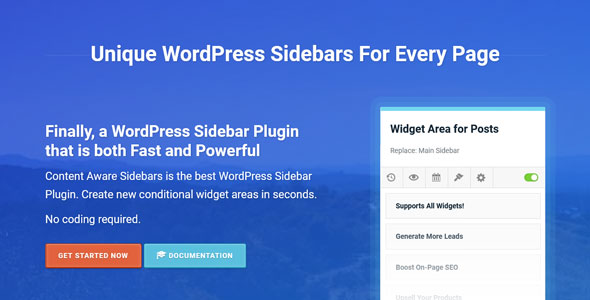 Download Content Aware Sidebars Pro v3.12.2 Free / Nulled