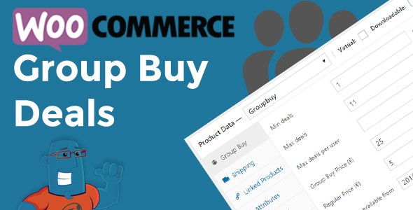 Download WooCommerce Group Buy and Deals v1.1.19 - Groupon Clone for Woocommerce Free / Nulled