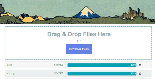 Download Contact Form 7 Drag and Drop FIles Upload v3.2 - Multiple Files Upload Free / Nulled