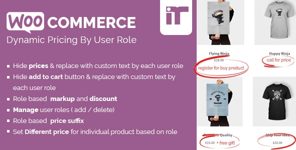 Download Woocommerce Dynamic Pricing By User Role v1.4 Free / Nulled