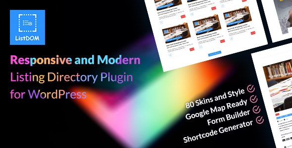 Download Listdom v1.6.1 - Advanced Directory and Listing Plugin Free / Nulled