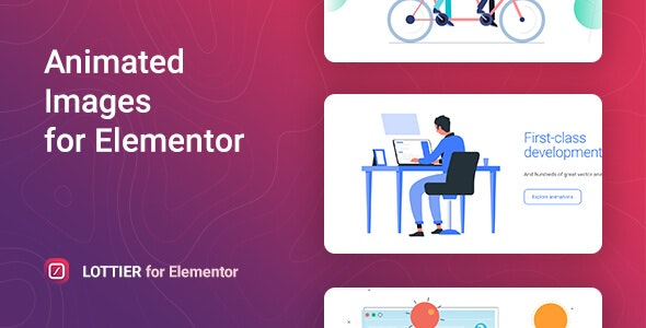 Download Lottier v1.0.1 - Lottie Animated Images for Elementor Free / Nulled