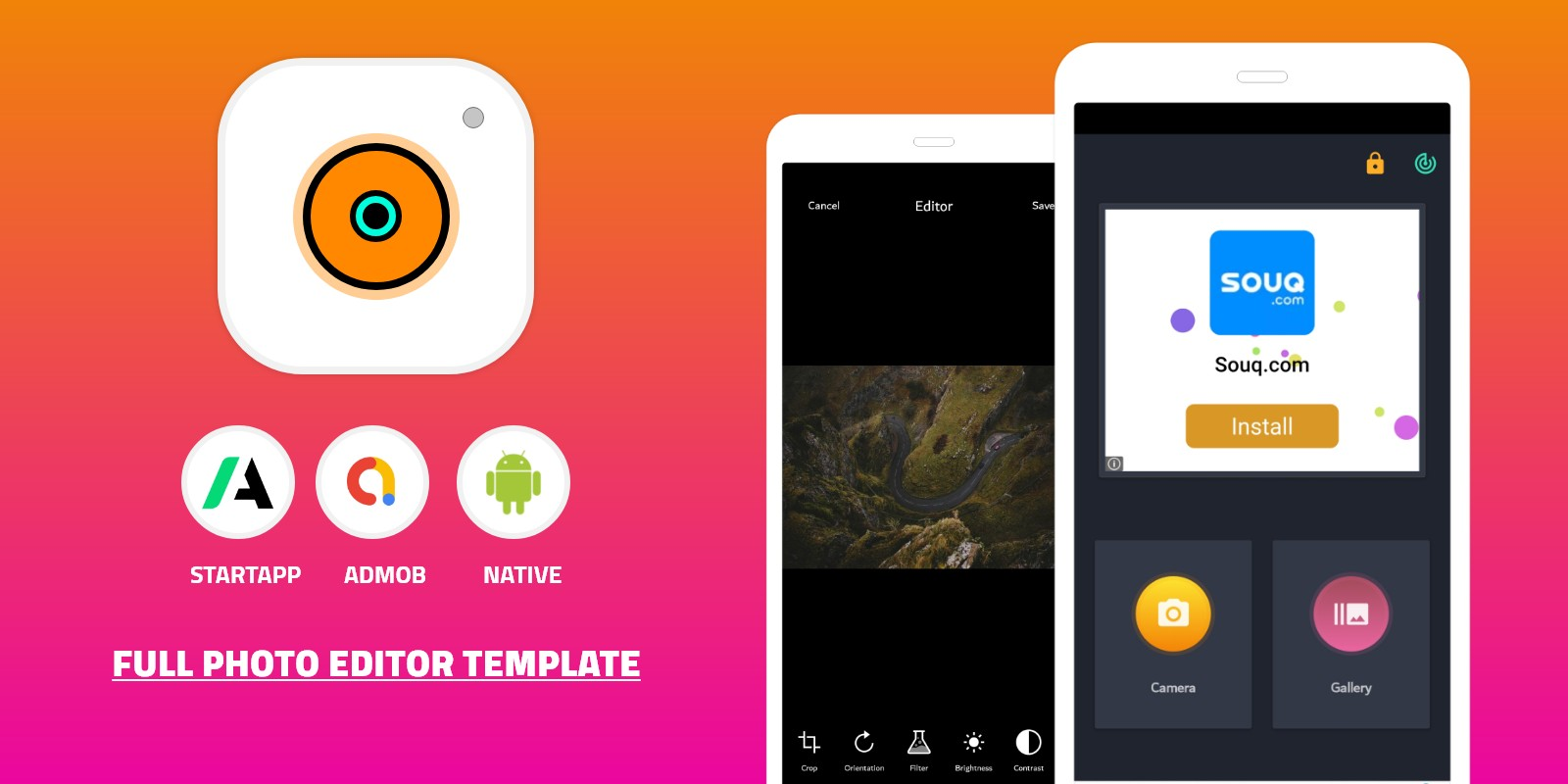 Download Photo Editor Android App Source Code v1.0 Free / Nulled