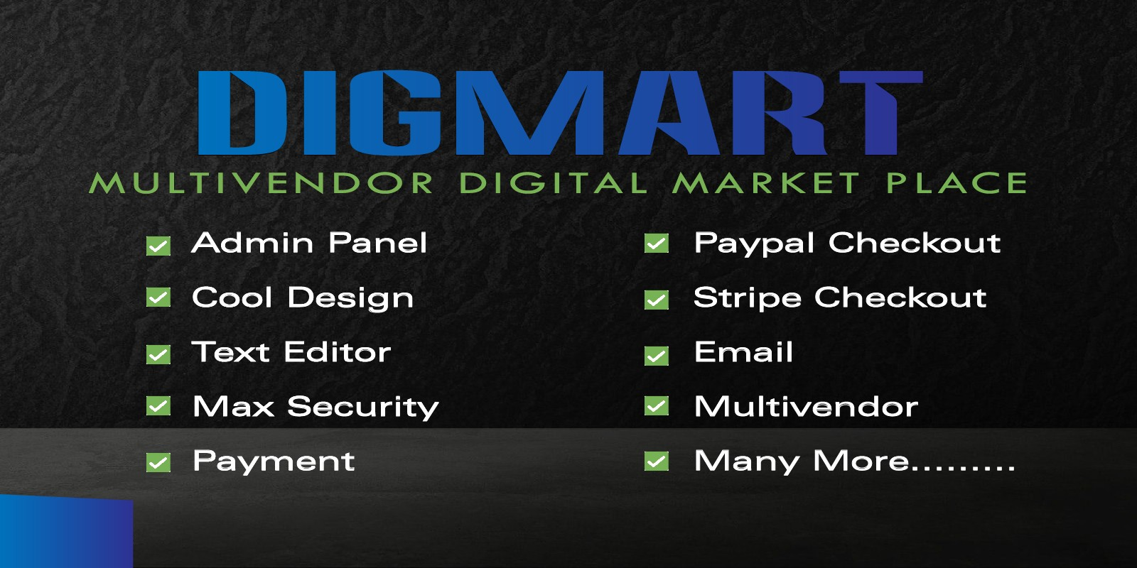 Download DigMart v3.6.0 - Multivendor Digital MarketPlace PHP Free / Nulled