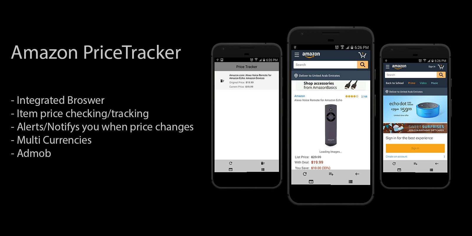 Download Amazon Price Tracker v1.0 - Android App Source Code Free / Nulled