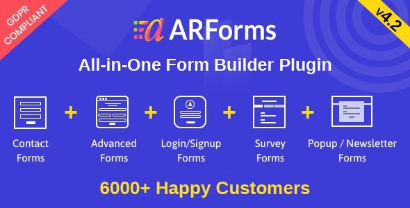 Download ARForms v4.2 - Wordpress Form Builder Plugin Free / Nulled