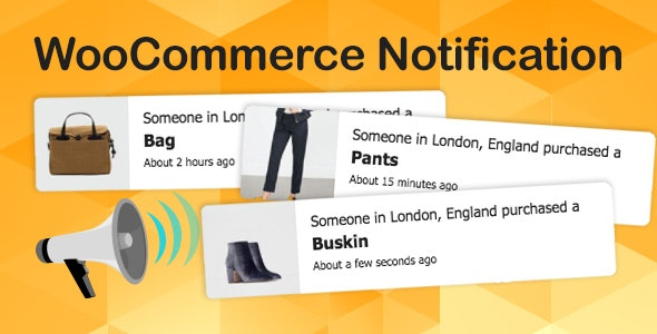 Download WooCommerce Notification v1.4.2 - Boost Your Sales Free / Nulled