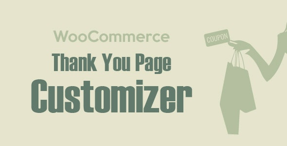 Download WooCommerce Thank You Page Customizer v1.0.4.3 Free / Nulled