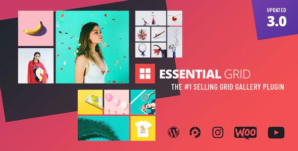 Download Essential Grid WordPress Plugin v3.0.3 Free / Nulled