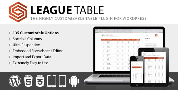 Download League Table v2.08 Free / Nulled