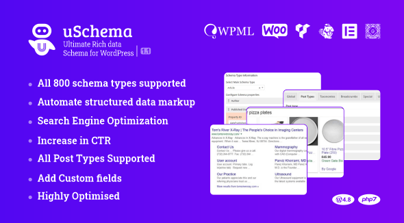 Download uSchema v2.1.0 - Ultimate Rich Data Schema for WordPress Free / Nulled