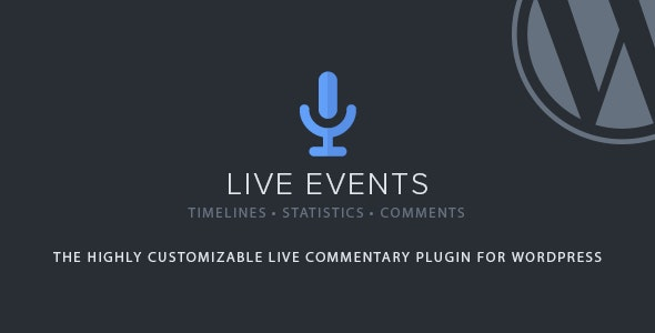 Download Live Events v1.2.5 - Premium Plugin Free / Nulled