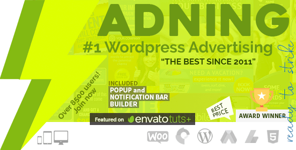 Download Adning Advertising v1.5.8 - All In One Ad Manager Free / Nulled