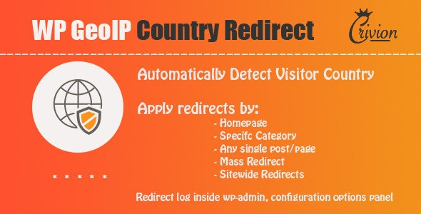 Download WP GeoIP Country Redirect v3.3 Free / Nulled