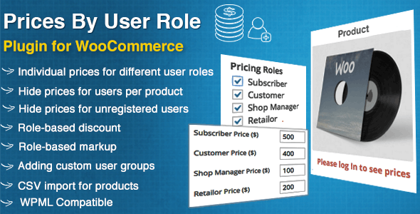 Download WooCommerce Prices By User Role v4.5 Free / Nulled