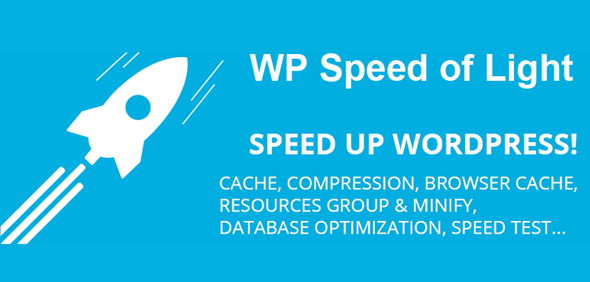 Download WP Speed of Light v2.6.4 - Speed Up WordPress Pro Free / Nulled