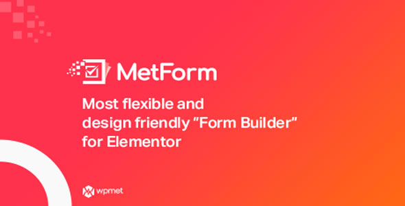 Download MetForm Pro v1.2.2 - Advanced Elementor Form Builder Free / Nulled