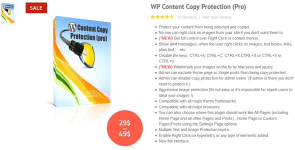 Download WP Content Copy Protection Pro v9.6 Free / Nulled