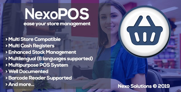 Download NexoPOS v3.15.41 - Extendable PHP Point of Sale Free / Nulled