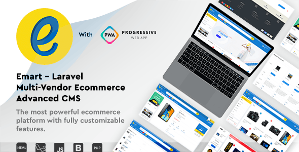 Download emart v1.3 - Laravel Multi-Vendor Ecommerce Advanced CMS Free / Nulled