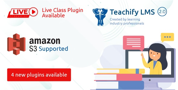 Download Teachify LMS v2.3.0 - Powerful Learning Management System Free / Nulled