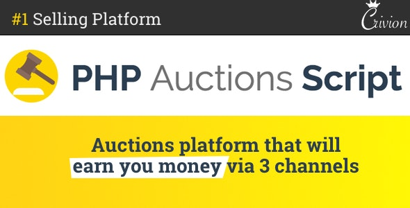 Download PHP Auctions Script v1.3 Free / Nulled