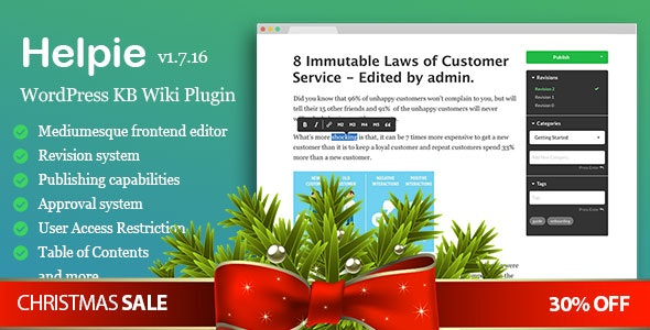 Download WordPress Knowledge Base Plugin v1.9.5 Free / Nulled