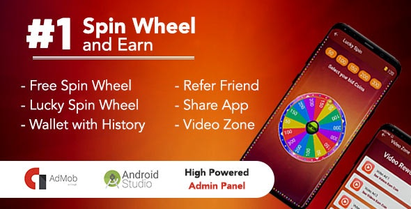 Download Spin To Win & Earn v1.0 Free / Nulled