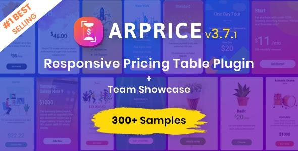 Download ARPrice v3.7.1 - Ultimate Compare Pricing table plugin Free / Nulled