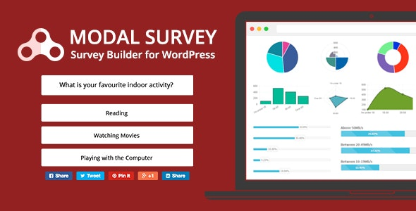 Download Modal Survey v2.0.1.6.1 - Poll, Survey & Quiz Plugin Free / Nulled