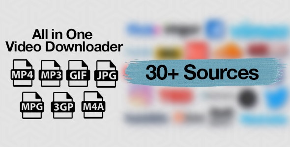 Download All in One Video Downloader Script v1.8 Free / Nulled