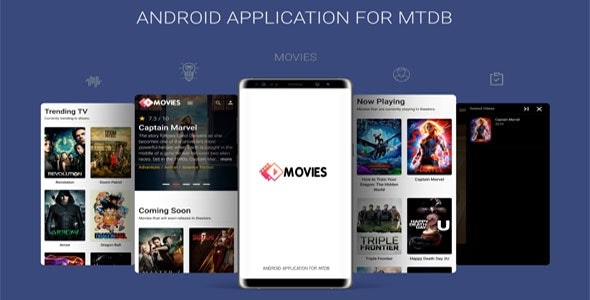 Download Android Application For MTDB v2.0 - Ultimate Movie&TV Database Free / Nulled