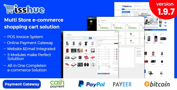 Download Isshue v2.0 - Multi Store eCommerce Shopping Cart Solution Free / Nulled