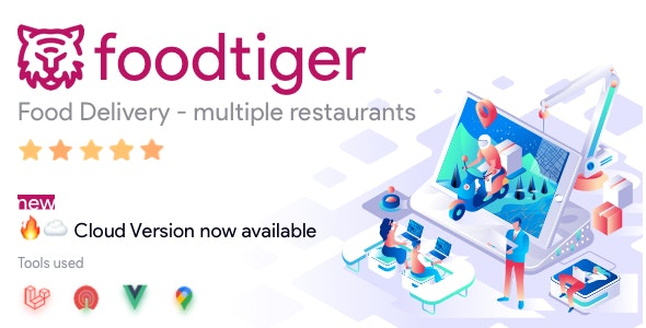 Download FoodTiger v1.4.0 - Food delivery - Multiple Restaurants Free / Nulled